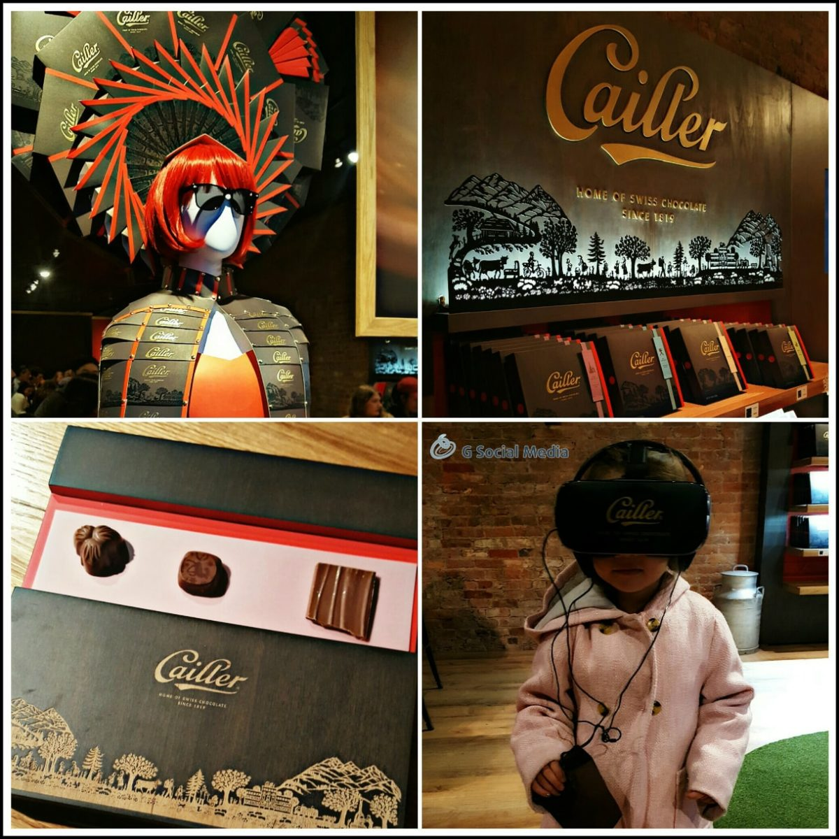 Cailler Chocolate NYC