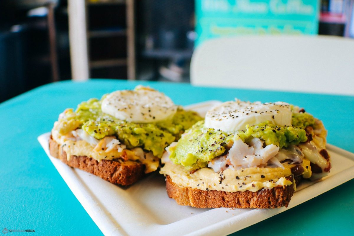Avocado Toast at 10th Muse Coffee Biltmore Village Asheville