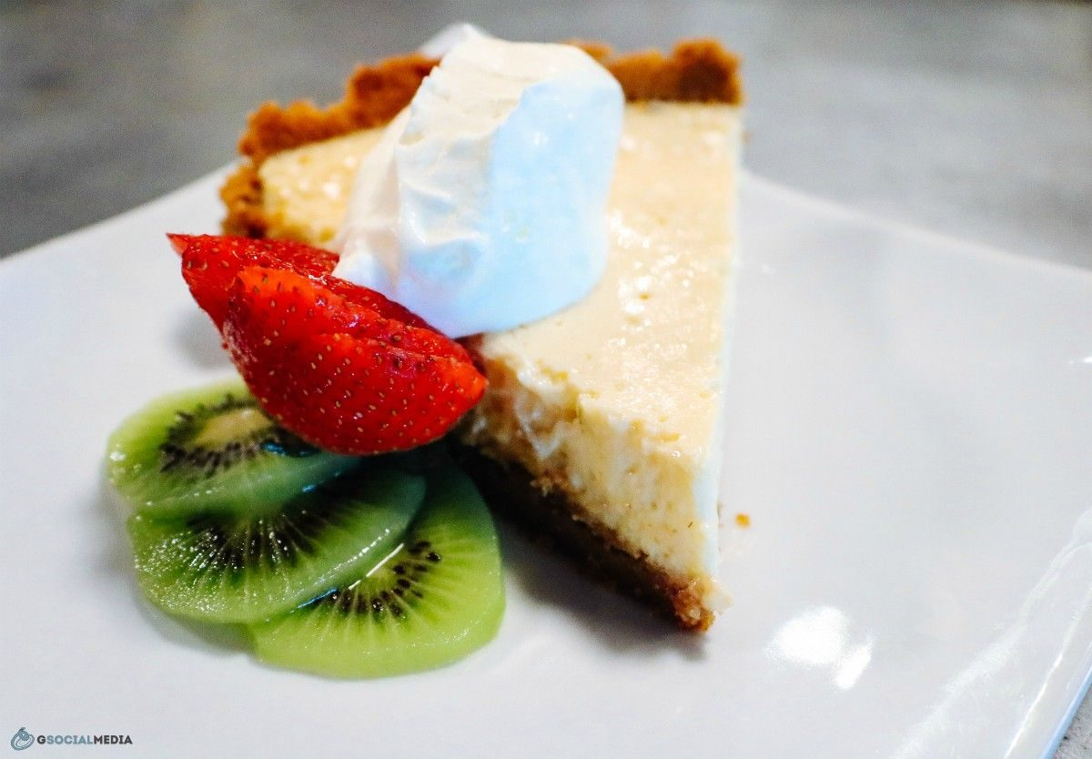Key Lime Pie at Continental Lounge Asheville