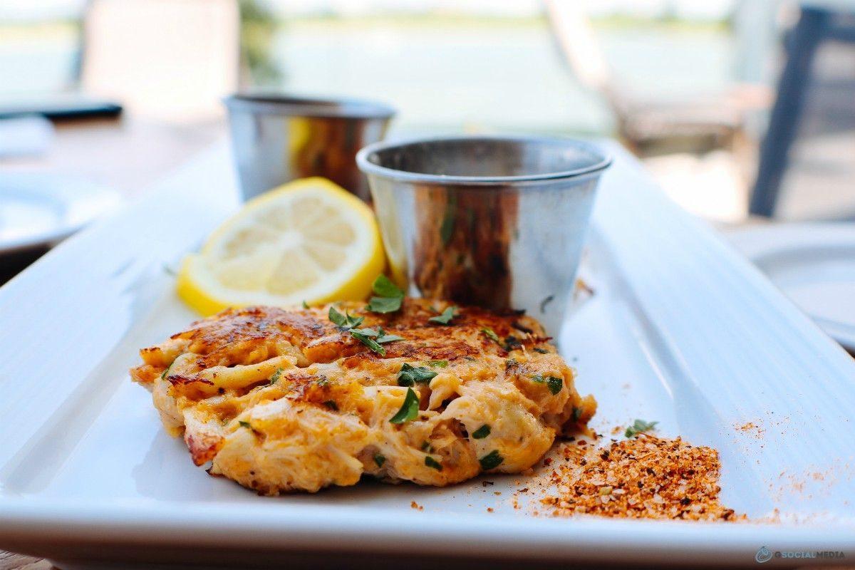 Crab Cakes KC Tap + Table Marriott Kansas City