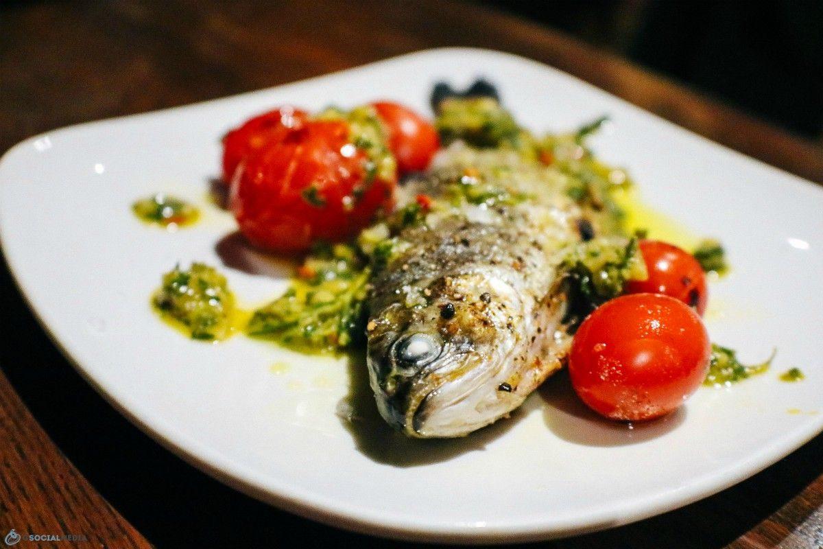Fish at Cucina 24 in Asheville