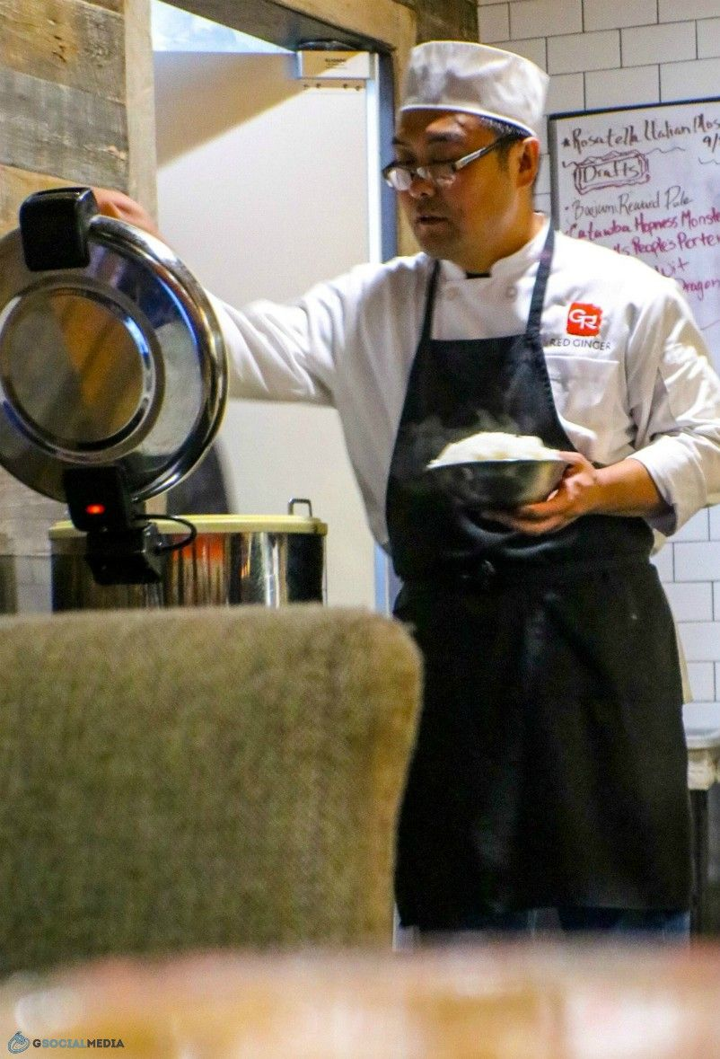 Chinese Chef at Red Ginger Dim Sum
